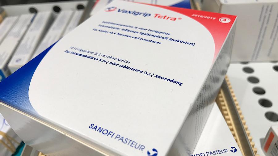 20 Prozent Quote Fur Grippeimpfstoffe Apotheke Adhoc