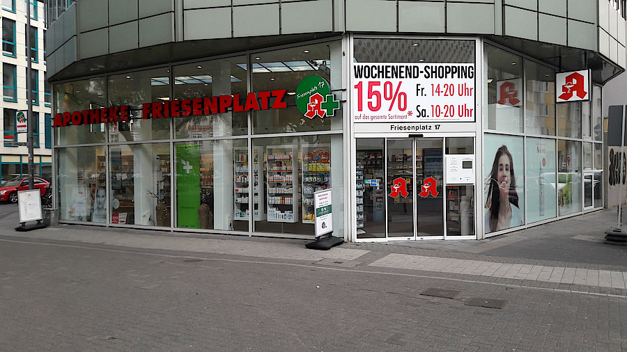 Friesenplatz 17A Köln happy-hour-apotheke mischt friesenplatz auf   apotheke adhoc