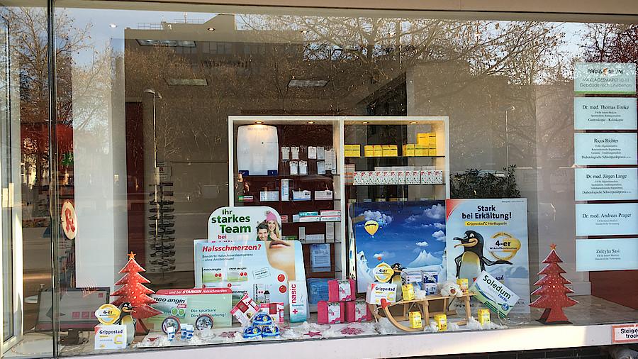 Weihnachtsdeko im schaufenster europ ische weihnachtstraditionen - Schaufenster weihnachtsdeko ...