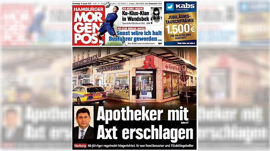 Hamburger Apothekermord: Hat die Tat einen politischen ...