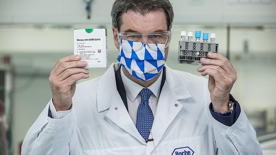 Millionenfache Corona-Antikörpertests ab Mai - Für ganz Deutschland