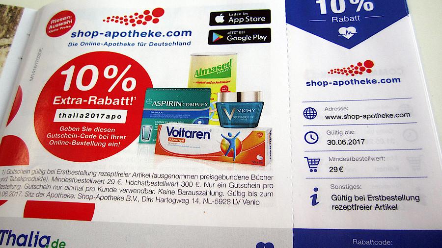 Shop Apotheke Gutschein Code