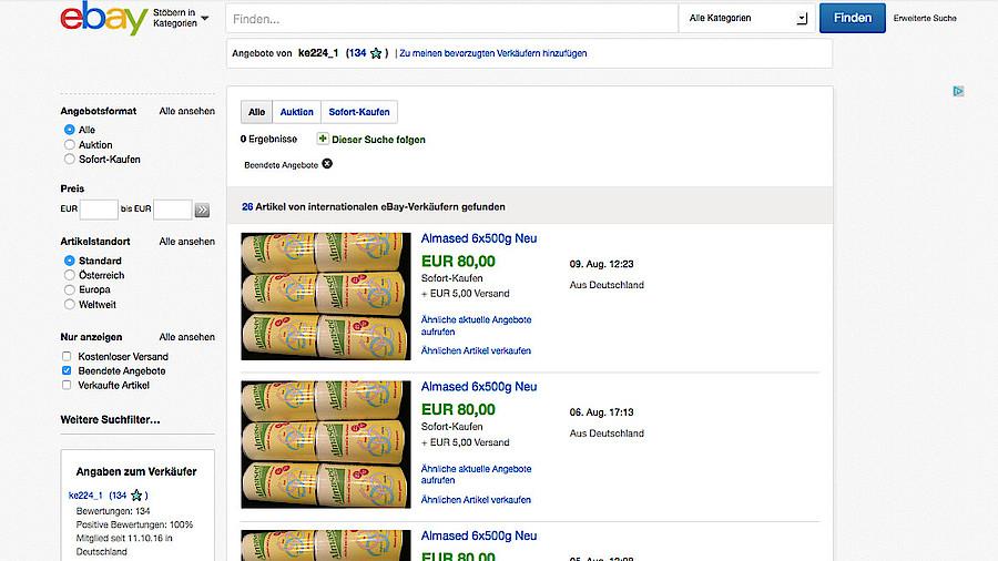 Almased Schlacht Auf Ebay Apotheke Adhoc