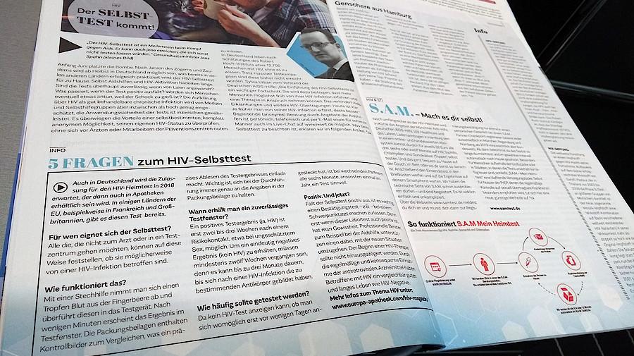 HIV-Selbsttests sollen bald leichter erhältlich sein