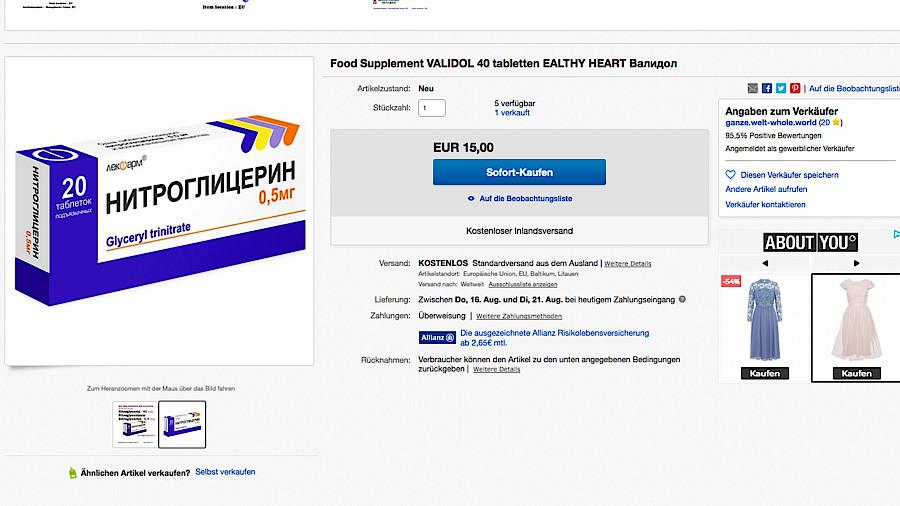 Kaufen Sie Chloroquinum online in der Apotheke