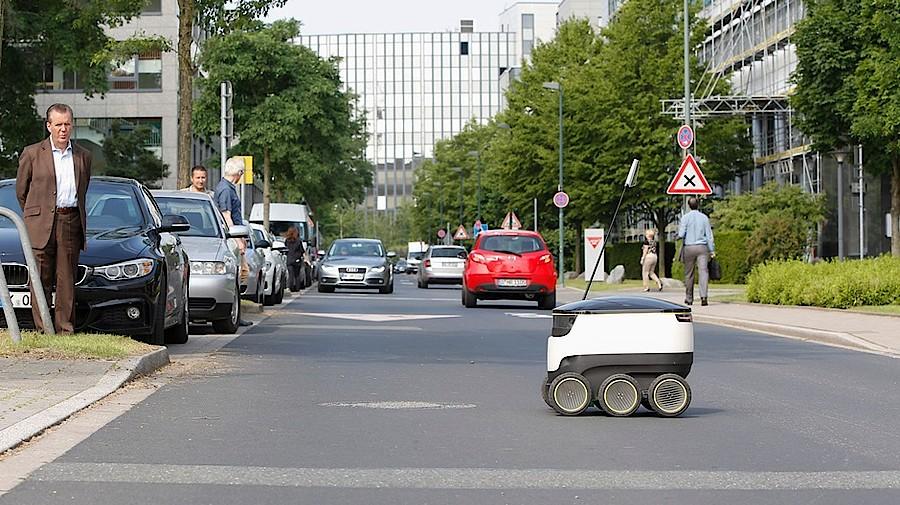 Lieferroboter im testeinsatz apotheke adhoc for Die letzte metro