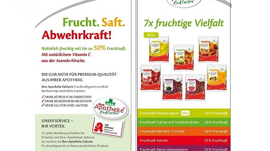 Ihre Apotheke Exklusiv Fruchtsaftgummi Spezialitaten Apotheke Adhoc