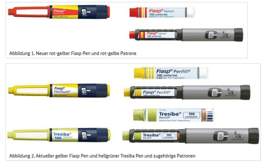 farb nderung f r fiasp apotheke adhoc. Black Bedroom Furniture Sets. Home Design Ideas