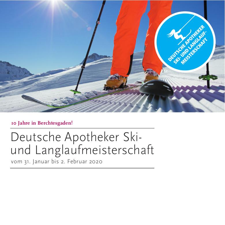 10 Jahre in Berchtesgaden – Sanacorp und BAV laden Apotheker zur Ski- und Langlaufmeisterschaft 2020 ein - APOTHEKE ADHOC