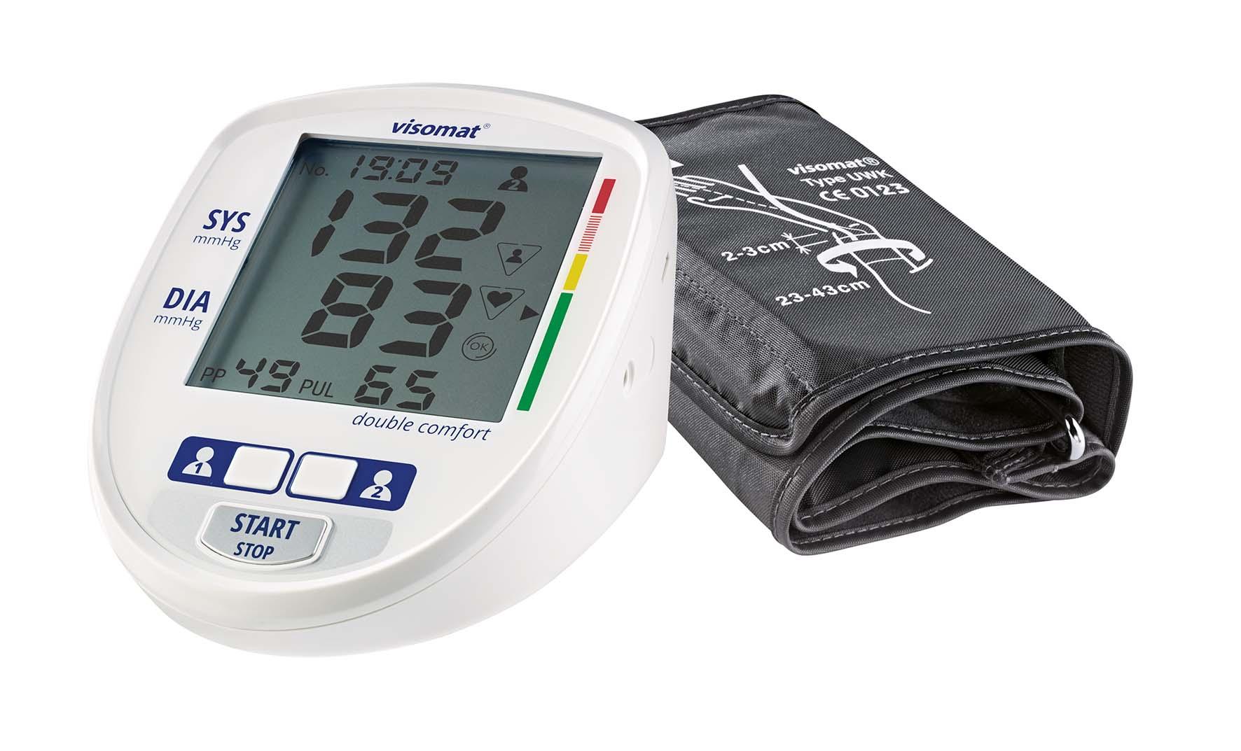 Visomat 174 Double Comfort Innovatives Blutdruckmessger 228 T